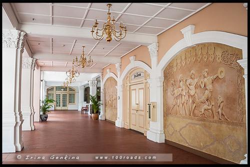Отель Раффлз, Raffles Hotel, Сингапур, Singapore