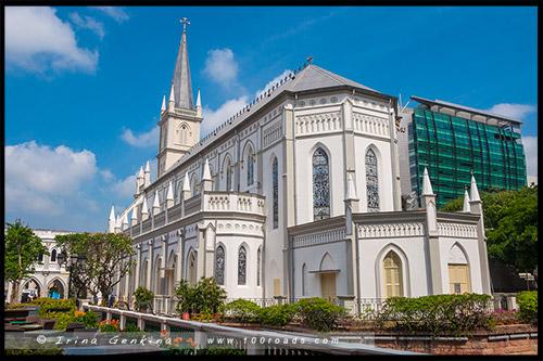 Чимес, Chijmes, Сингапур, Singapore