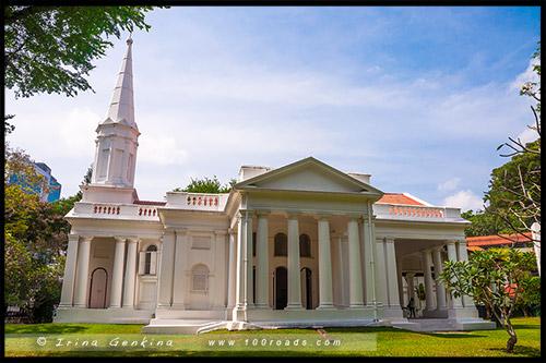 Армянская церковь Св Григория Просветителя, Armenian Apostolic Church of St Gregory the Illuminator, Сингапур, Singapore