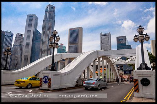 Мост Элгин, Elgin Bridge, Сингапур, Singapore