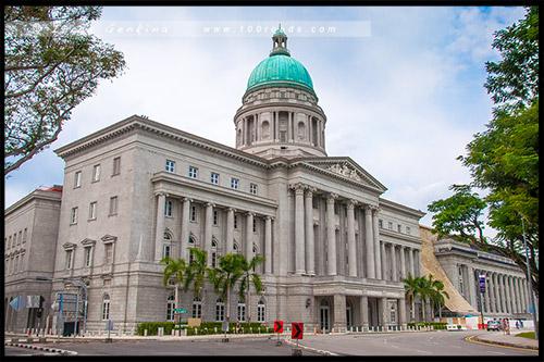 Старое здание Верховного суда, Old Supreme Court Building, Сингапур, Singapore