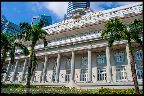 Отель Фуллертон, Fullerton Hotel, Марина Бэй, Marina Bay, Сингапур, Singapore