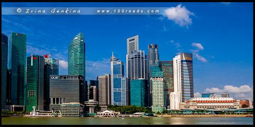 Здание Таможни, Customs House, Марина Бэй, Marina Bay, Сингапур, Singapore