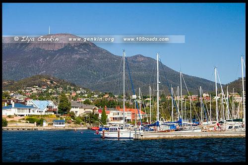 Пристань, Wharf, Хобарт, Hobart, Тасмания, Tasmania, Австралия, Australia