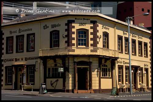 Таверна - Надежда и Якорь, Hope and Anchor Tavern, Хобарт, Hobart, Тасмания, Tasmania, Австралия, Australia