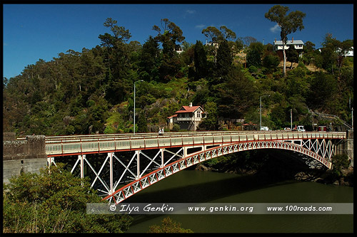 Королевский Мост, Kings Bridge, Лонсестон, Launceston, Тасмания, Tasmania, Австралия, Australia