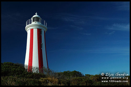 Маяк Блафф Мерси, The Mersey Bluff Lighthous, Девонпорт, Devonport, Тасмания, Tasmania, Австралия, Australia
