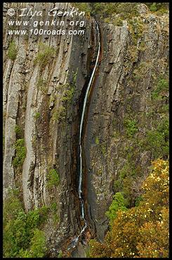Водопад Ральф, Ralph Falls, Тасмания, Tasmania, Австралия, Australia