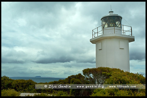 Маяк Скалистый Мыс, Rocky Cape Lighthouse, Тасмания, Tasmania, Австралия, Australia