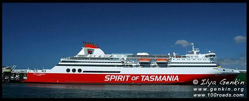 Spirit of Tasmania, Девонпорт, Devonport, Тасмания, Австралия, Australia