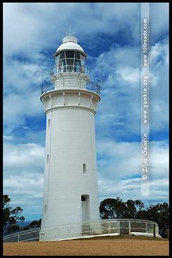 Маяк Мыс Стол, Table Cape Lighthouse, Тасмания, Tasmania, Австралия, Australia