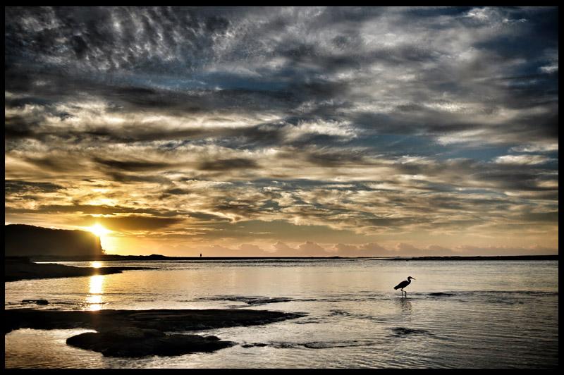 Пляж Дюрас, Durras Beach, Новый Южный Уэльс, New South Wales, Австралия, Australia