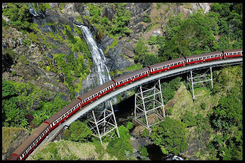 Stoney Creek Falls Bridge, Квинсленд, Queensland, Австралия, Australia