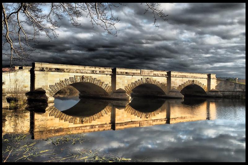 Мост Росс, Ross Bridge, Тасмания, Tasmania, Австралия, Australia