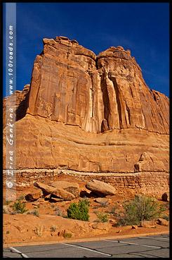 Орган, Organ, Национальный парк Арки, Arches National Park, Юта, Utah, США, USA, Америка, America