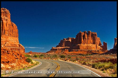 Знакомство с Америкой - Национальный парк Арки (Arches National Park)