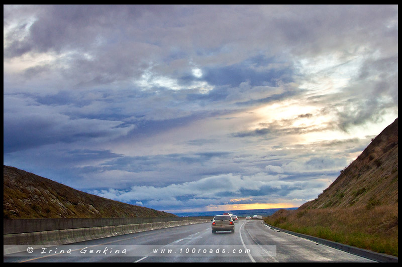 Перевал Техачапи, Tehachapi Pass, Калифорния, California, США, USA, Америка, America