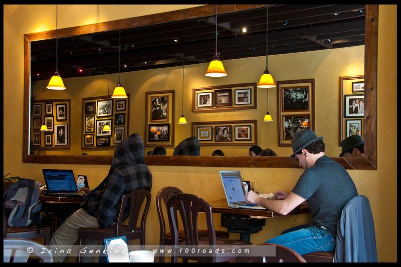 Caffe Trieste, Монтерей, Monterey, Калифорния, California, США, USA, Америка, America