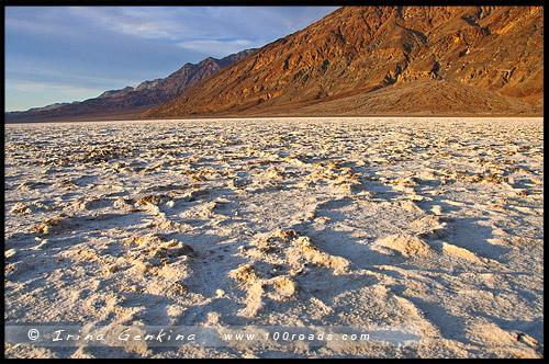 Плохая вода, Badwater, Долина Смерти, Death Valley, Калифорния, California, СЩА, USA, Америка, America