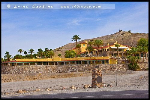 Furnace Creek Inn, Долина Смерти, Death Valley, Калифорния, California, СЩА, USA, Америка, America