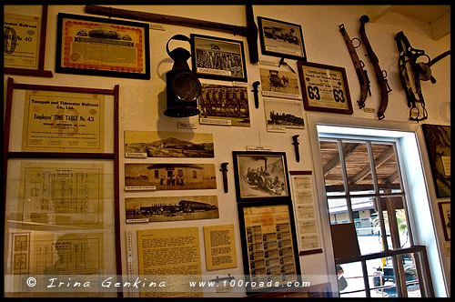 Borax Museum, Furnace Creek Ranch, Долина Смерти, Death Valley, Калифорния, California, СЩА, USA, Америка, America