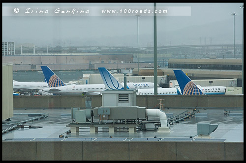 Сан Франциско, San Francisco, Аэропорт, Airport, Калифорния, California, СЩА, USA, Америка, America
