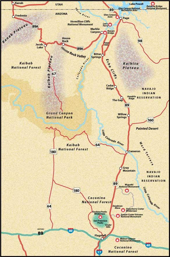 Карта-схема района Гранд