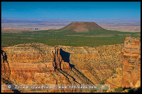 Пустынный вид, Desert View, Гранд Каньон, Grand Canyon, Аризона, Arizona, США, USA, Америка, America