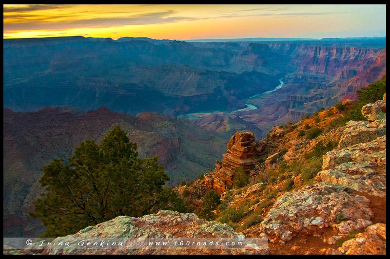 Гранд Каньон, Grand Canyon, Аризона, Arizona, США, USA, Америка, America
