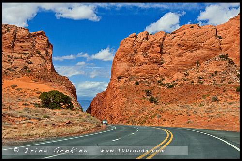 Утесы Эхо, Echo Cliffs, Аризона, Arizona, США, USA, Америка, America