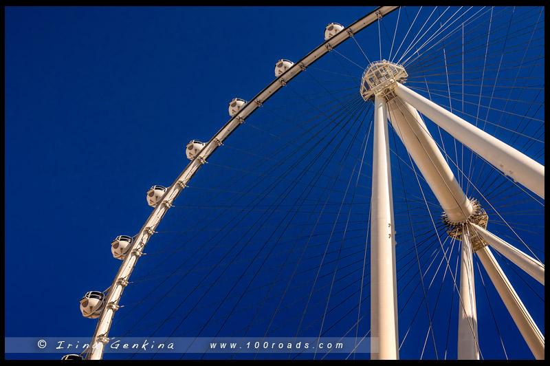 High Roller Vegas, Лас Вегас, Las Vegas, Невада, Nevada, США, USA, Америка, America
