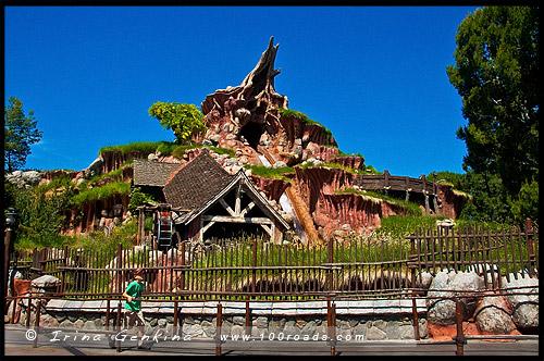 Диснейленд, Disneyland, Анахайм, Anaheim, Лос Анжелес, LA, Los Angeles, Калифорния, California, США, USA