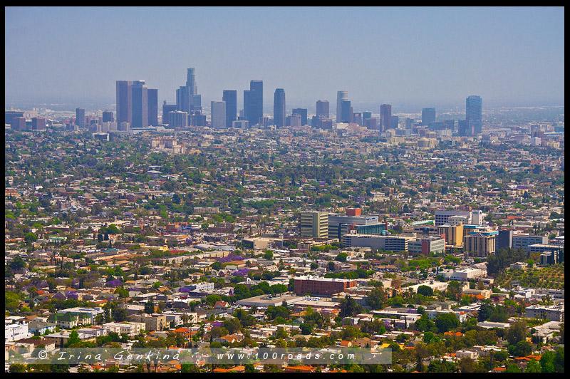Обсерватории Гриффита, Griffith Observatory, Лос Анжелес, LA, Los Angeles, Калифорния, California, США, USA