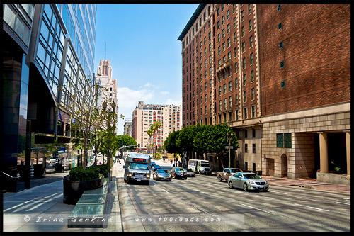 Маленький Токио, Little Tokyo, Лос Анжелес, LA, Los Angeles, Калифорния, California, США, USA
