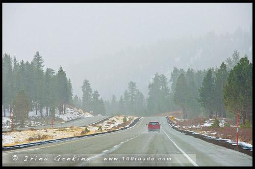 Шоссе 395, US Route 395, Калифорния, California, США, USA, Америка, America