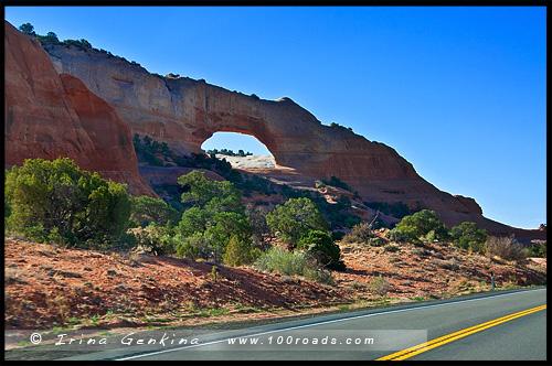 Дыра в скале, Hole in the Rock, Юта, Utah, США, USA, Америка, America