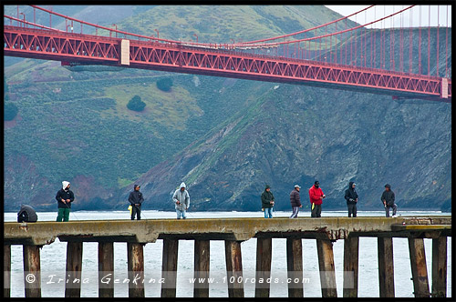 Причал Торпеда, Torpedo Wharf, Сан Франциско, San Francisco, Калифорния, California, СЩА, USA, Америка, America
