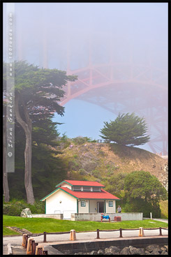 Форт Пойнт, Fort Point, Сан Франциско, San Francisco, Калифорния, California, СЩА, USA, Америка, America