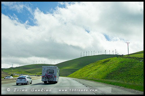 Дорога в Йосемити, Way to Yosemite NP, Национальный парк Йосемити, Yosemite National Park, Калифорния, California, СЩА, USA, Америка, America